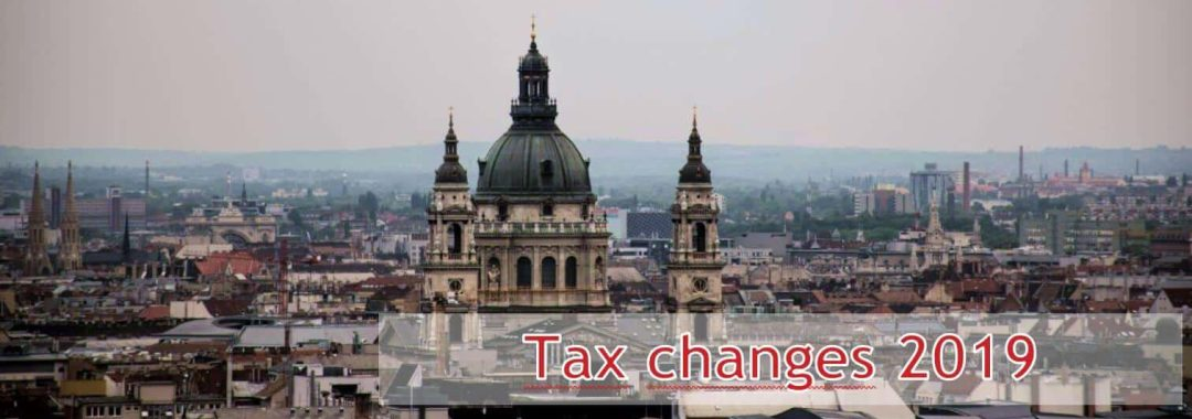 Tax changes 2019